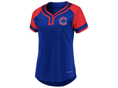 Chicago Cubs Majestic MLB Women's League Diva T-Shirt