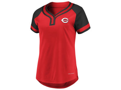 Cincinnati Reds Majestic MLB Women's League Diva T-Shirt