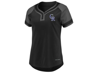 Colorado Rockies Majestic MLB Women's League Diva T-Shirt