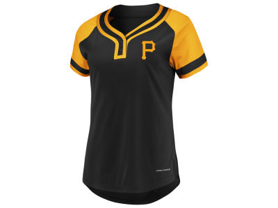 Pittsburgh Pirates Majestic MLB Women's League Diva T-Shirt