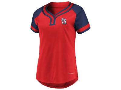 St. Louis Cardinals Majestic MLB Women's League Diva T-Shirt