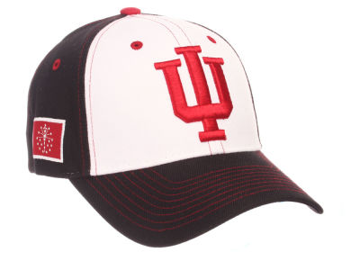 Indiana Hoosiers Zephyr NCAA Panama Adjustable Cap