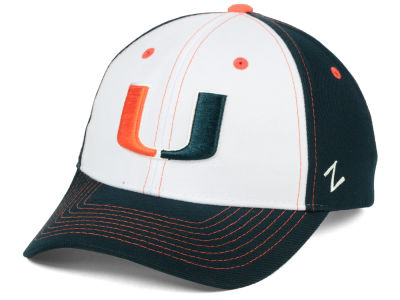 Miami Hurricanes Zephyr NCAA Panama Adjustable Cap