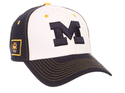 Michigan Wolverines Zephyr NCAA Panama Adjustable Cap