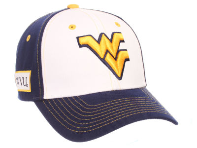 West Virginia Mountaineers Zephyr NCAA Panama Adjustable Cap