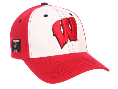 Wisconsin Badgers Zephyr NCAA Panama Adjustable Cap
