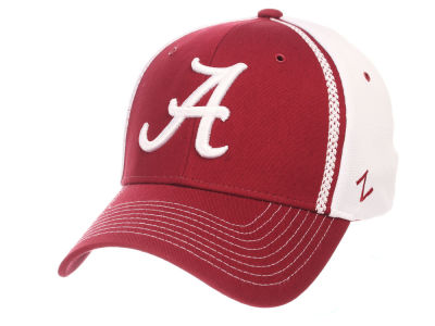 Alabama Crimson Tide Zephyr NCAA Pattern Pipe Stretch Cap