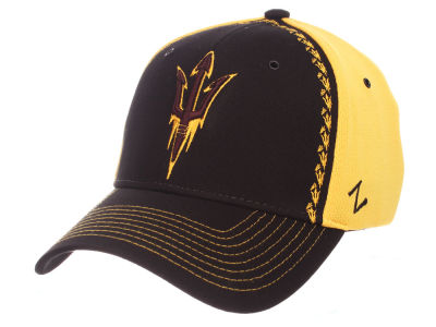 Arizona State Sun Devils Zephyr NCAA Pattern Pipe Stretch Cap