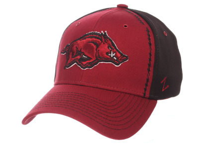 Arkansas Razorbacks Zephyr NCAA Pattern Pipe Stretch Cap