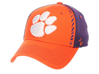 Clemson Tigers Zephyr NCAA Pattern Pipe Stretch Cap