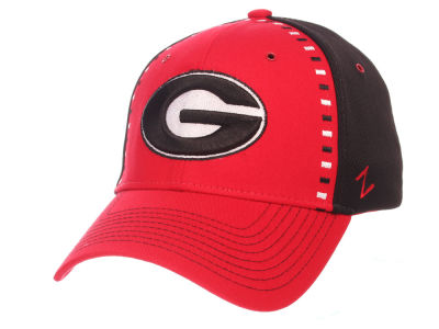 Georgia Bulldogs Zephyr NCAA Pattern Pipe Stretch Cap