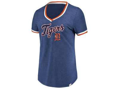 Detroit Tigers Majestic MLB Women's Driven by Results T-Shirt