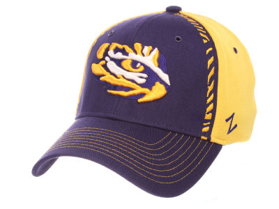 LSU Tigers Zephyr NCAA Pattern Pipe Stretch Cap