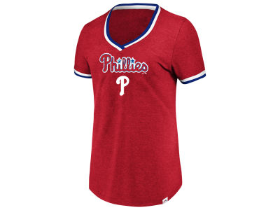 Philadelphia Phillies Majestic MLB Women's Driven by Results T-Shirt