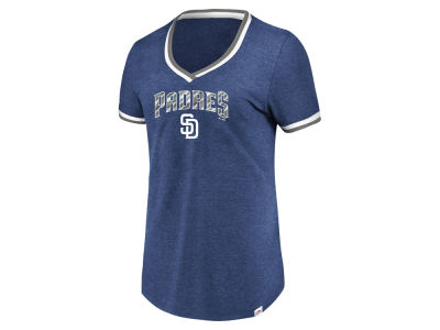 San Diego Padres Majestic MLB Women's Driven by Results T-Shirt