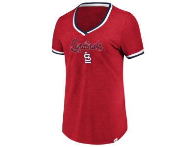 St. Louis Cardinals Majestic MLB Women's Driven by Results T-Shirt