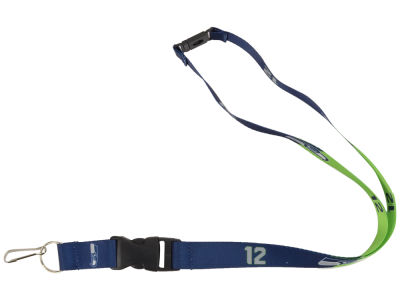Seattle Seahawks Aminco Slogan Lanyard
