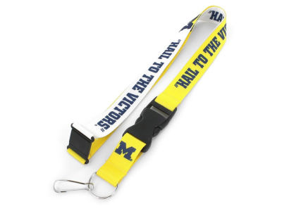 Michigan Wolverines Slogan Lanyard