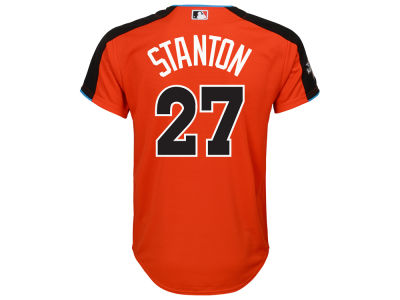 Giancarlo Stanton Majestic 2017 MLB All Star Game Youth Player Replica Jersey