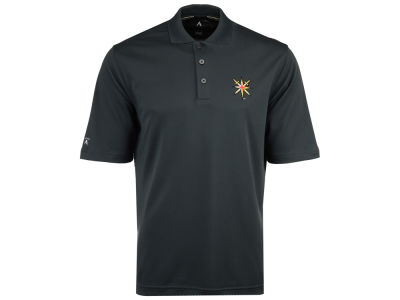 Vegas Golden Knights Antigua NHL Men's Pique Xtra-Lite Polo
