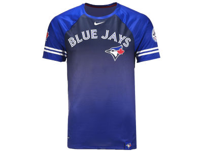 Toronto Blue Jays Nike MLB Men's Sublimated Quarter Sleeve T-Shirt