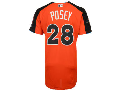 San Francisco Giants Buster Posey MLB 2017 Men's All Star Game Home Run Derby Jersey