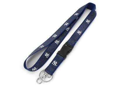 New York Yankees Aminco Color Sparkle Lanyard Aminco