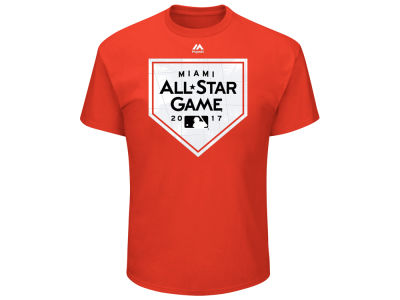 Majestic 2017 MLB All Star Game Roster T-Shirt