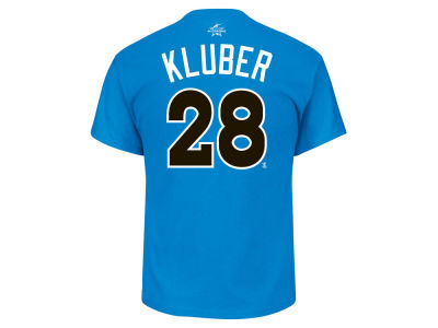 Cleveland Indians Corey Kluber 2017 MLB Men's All Star Game Player T-Shirt