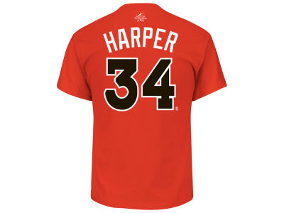 Washington Nationals Bryce Harper 2017 MLB Men's All Star Game Player T-Shirt