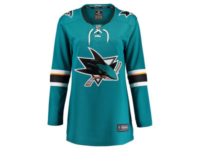 San Jose Sharks Majestic NHL Women's Breakaway Jersey