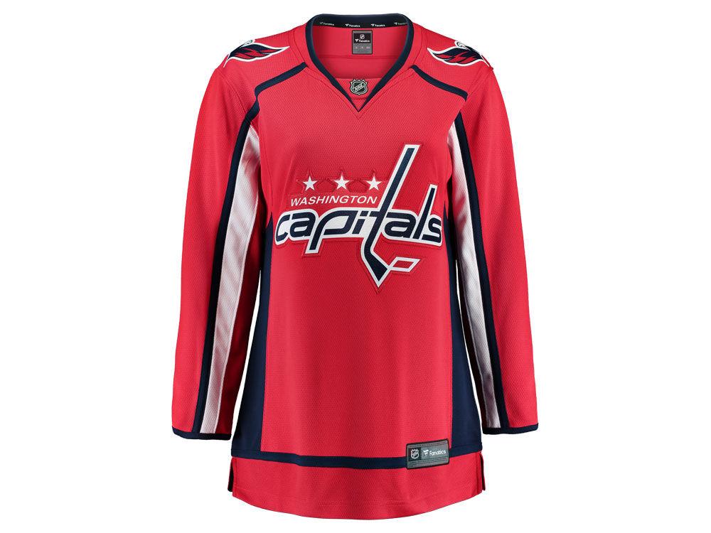 Washington Capitals Majestic NHL Women s Breakaway Jersey  0da60f66d1