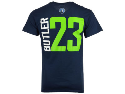 Minnesota Timberwolves Jimmy Butler Majestic NBA Men's Vertical Name and Number T-Shirt