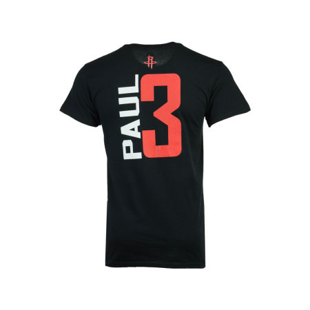 Houston Rockets Chris Paul Majestic NBA Men's Vertical Name And Number T-Shirt