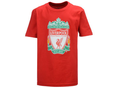 Liverpool FC Outerstuff Club Team Youth Primary Logo T-Shirt