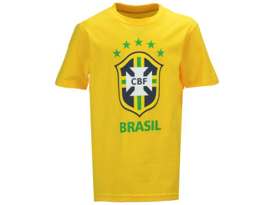 Brazil Outerstuff National Team Youth Crest T-Shirt