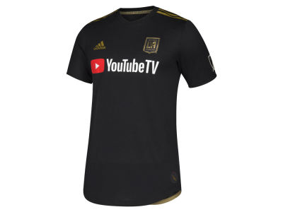 Los Angeles Football Club adidas MLS Men's Primary Authentic Jersey