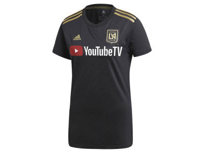 Los Angeles Football Club adidas MLS Women's Primary Replica Jersey