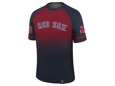 Boston Red Sox Nike MLB Men's Dri-Fit Sublimated Raglan T-shirt