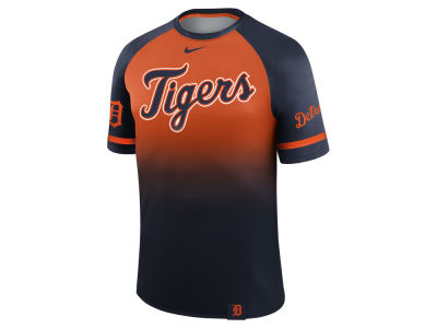 Detroit Tigers Nike MLB Men's Dri-Fit Sublimated Raglan T-shirt