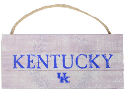 Kentucky Wildcats 10x5 Plank Wood Hanging Sign