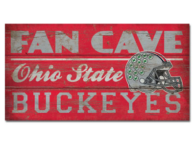 Ohio State Buckeyes Plank Wood Sign