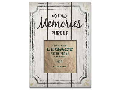 Purdue Boilermakers 4x4 Picture Frame