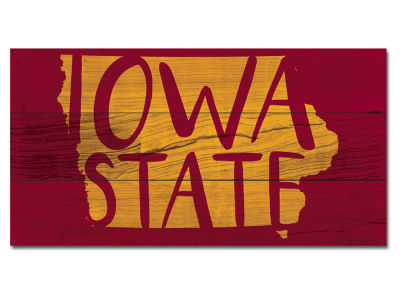 Iowa State Cyclones Plank Wood Sign