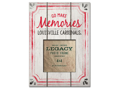 Louisville Cardinals 4x4 Picture Frame