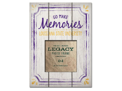 LSU Tigers 4x4 Picture Frame