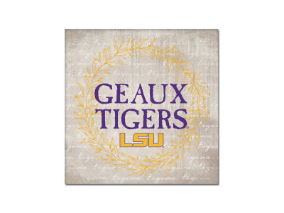 LSU Tigers 14x14 Canvas Wall Art
