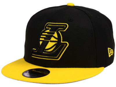 Los Angeles Lakers New Era NBA Team Double Twist 9FIFTY Snapback Cap