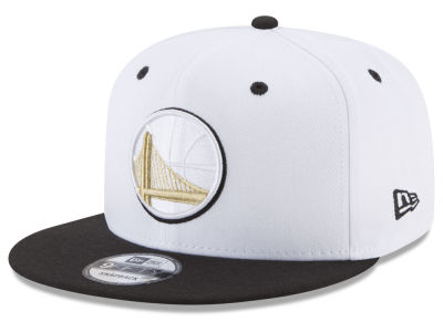 Golden State Warriors New Era NBA Double Twist 9FIFTY Snapback Cap