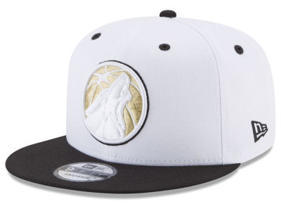 Minnesota Timberwolves New Era NBA Double Twist 9FIFTY Snapback Cap